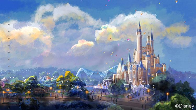 上海迪士尼乐园双动4日品质游(二进园)